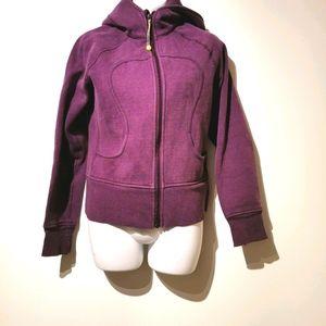 Lululemon dark purple scuba hoodie s4